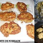 recette BEIGNETS DE POIREAUX
