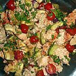 recette Salade d avocat au thon
