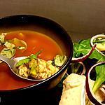 recette Soupe express 10min. Tomate asperge basilic ebly
