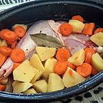 recette cuisse de dinde aux carottes et pommes de terre