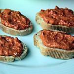 recette Tartinade de chorizo pour l'Apéro