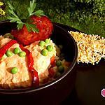 recette Risotto aux poivrons, petits pois et crème de chorizo