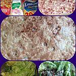 recette Quiche lorraine laitue du jardin