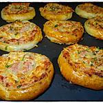 recette Escargots feuilletés au roquefort