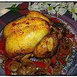 recette Poulet rôti au paprika
