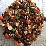 recette Salade des haricots toute simple