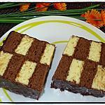 recette Cake façon gâteau damier