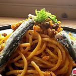 recette Pâtes aux sardines 2ème version.. bucattini alle sarde