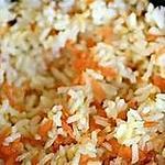 recette Riz et carottes au gratin