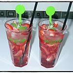 recette Mojito à la fraise