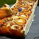 recette Tarte abricot et cardamome , éclats de pistaches