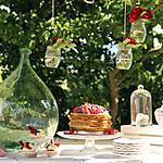 recette Wedding crêpes aux fruits rouge
