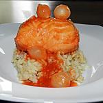 recette Paupiette de poisson à la sauce tomate