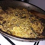 recette Nouilles chinoises a la courgette, asperges et au boeuf