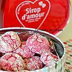 recette Amaretti à la rose et sirop d'amour