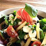 recette Salade de pâtes italienne express
