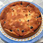 recette Gâteau  aux cerises et crème patissière