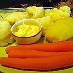recette légumes a la vapeur et son aioli