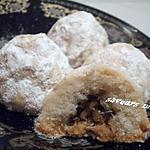 recette maamoul (gateau oriental aux noix))