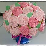 recette Bouquet de cupcakes