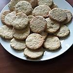 recette Sablés a la verveine citronnelle fraîche