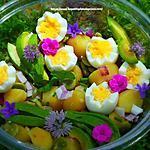 recette Salade de pommes de terre comme un jardin
