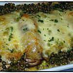 recette Cuisses de poulet gratinées