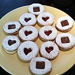 recette Lunettes à la confiture ou au nutella