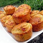 recette Muffins au Beaufort, pommes, noisettes