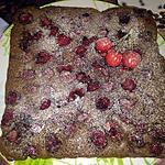 recette Fondant Chocolat Cerises de mon jardin ;)