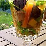 recette Poulet en gelée aux légumes et citron confit