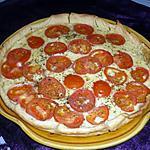 recette Tarte à la raclette Richesmonts et tomate/moutarde