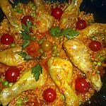 recette Galinhada (poulet au riz)