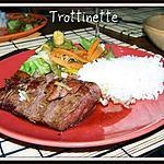recette Magrets de canard à l'asiatique