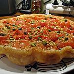 recette Tatin de tomates aux pistaches