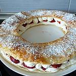 recette Couronne chantilly fraise