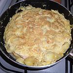 recette Tortilla pomme de terre jambon fromage