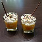 recette Cappuccino de fruits exotiques