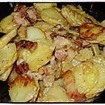 recette Pommes de terre sautées à la crème