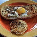 recette Oeuf cuit dans un pain