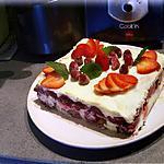recette Tiramisu spéculos framboises fraises