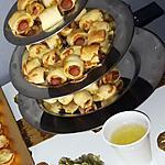 recette Roulés a la saucisse a la moutarde et parmesan
