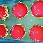 recette Entremets fraise-ricotta au thermomix