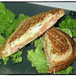 recette Croque saumon boursin