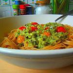 recette Pesto Catch Kilos à l'émulsion de courgettes