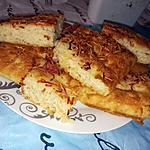recette Focaccia parfumé ail et romarin au jambon fromage