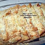 recette Crêpes à la bière fourrées champignons lardons