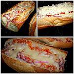 recette Pain jambon gratiné, c'est aussi une spécialité Réunionnaise