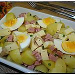 recette Salade de pommes de terre au babybel