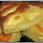 recette Gâteau aux pommes et crème d'amande